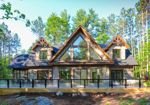The muldrew is linwood 39 s newest design and material home for House material packages