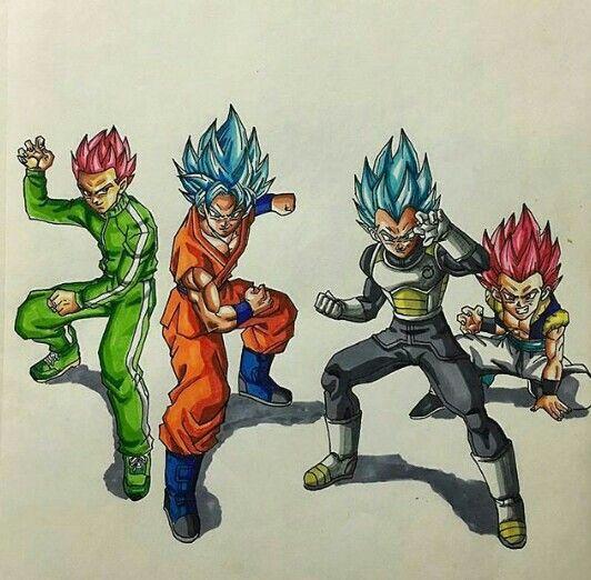 online retailer 7020f 51add Dbz, Goku, Manga Dragon, Fan Art, Hunter X
