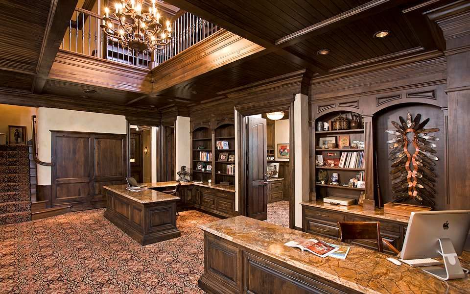 awesome Vintage Traditional Home Office Design Ideas