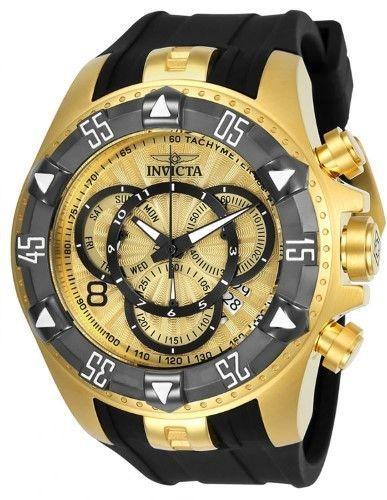 Invicta Men s  Excursion  Quartz Stainless Steel and Silicone Casual Watch,  Color Two Tone (Model  24276) e7f259c3e6