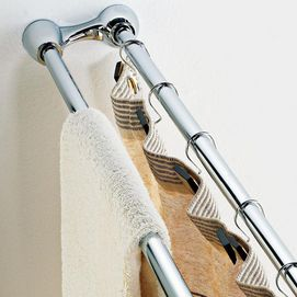 Whole Home Md Dual Tension Shower Curtain Rod Sears Buying Appliances Shower Curtain Rods Pretty Bathrooms