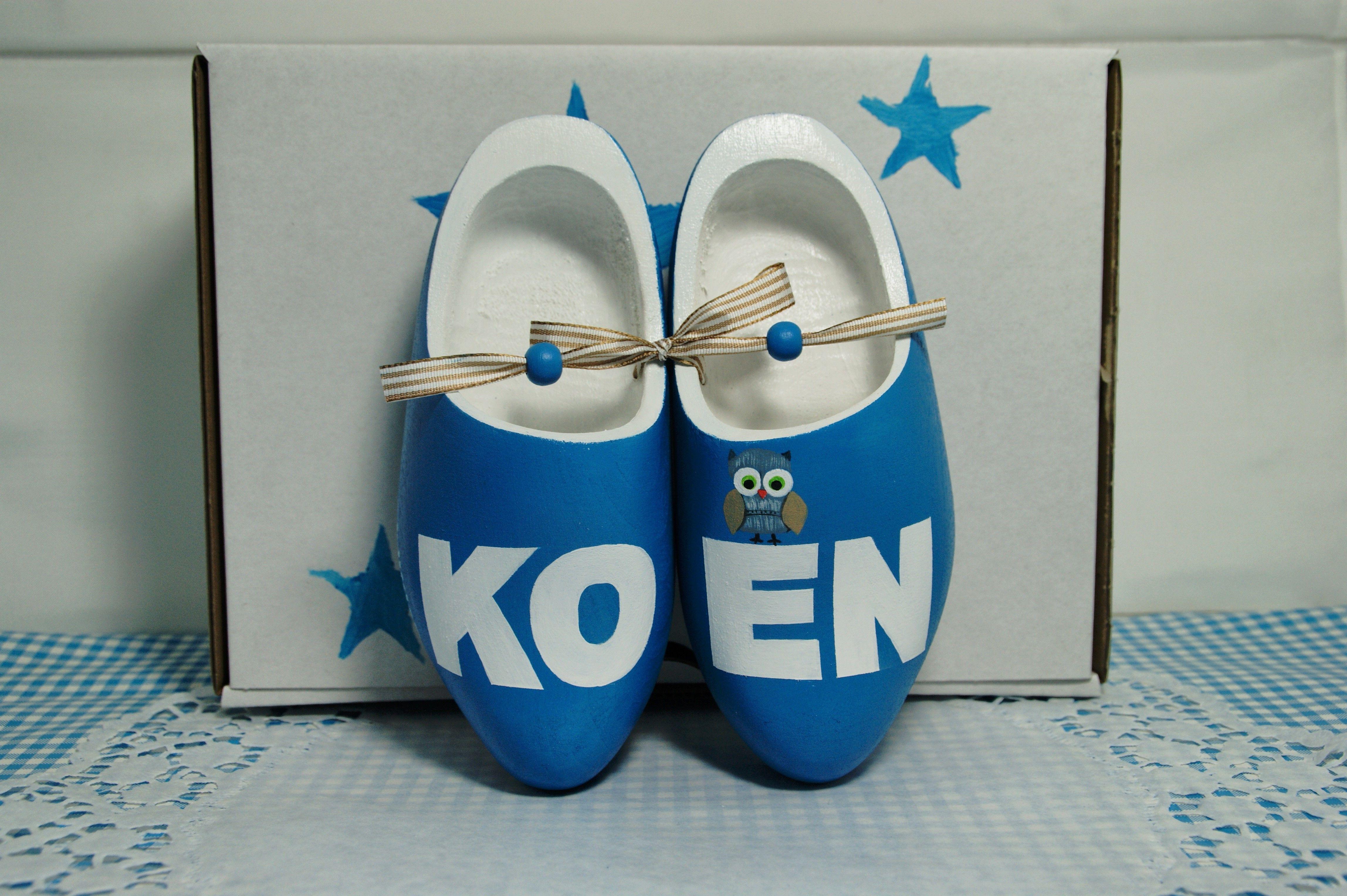 #Geboorteklompjes voor KOEN