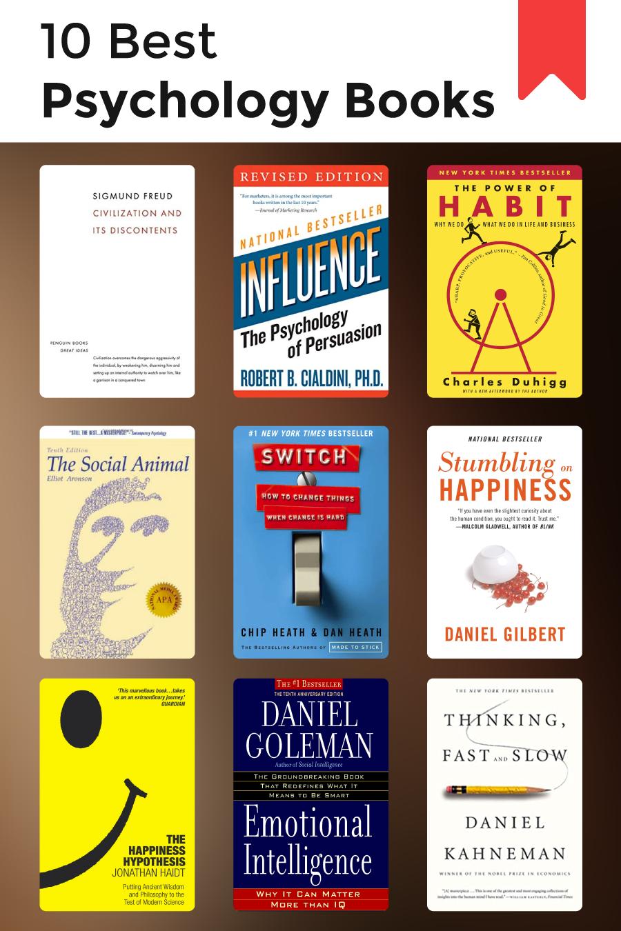 10 Best Psychology Books Human Behavior Psychology Psychology Books Behavior Books