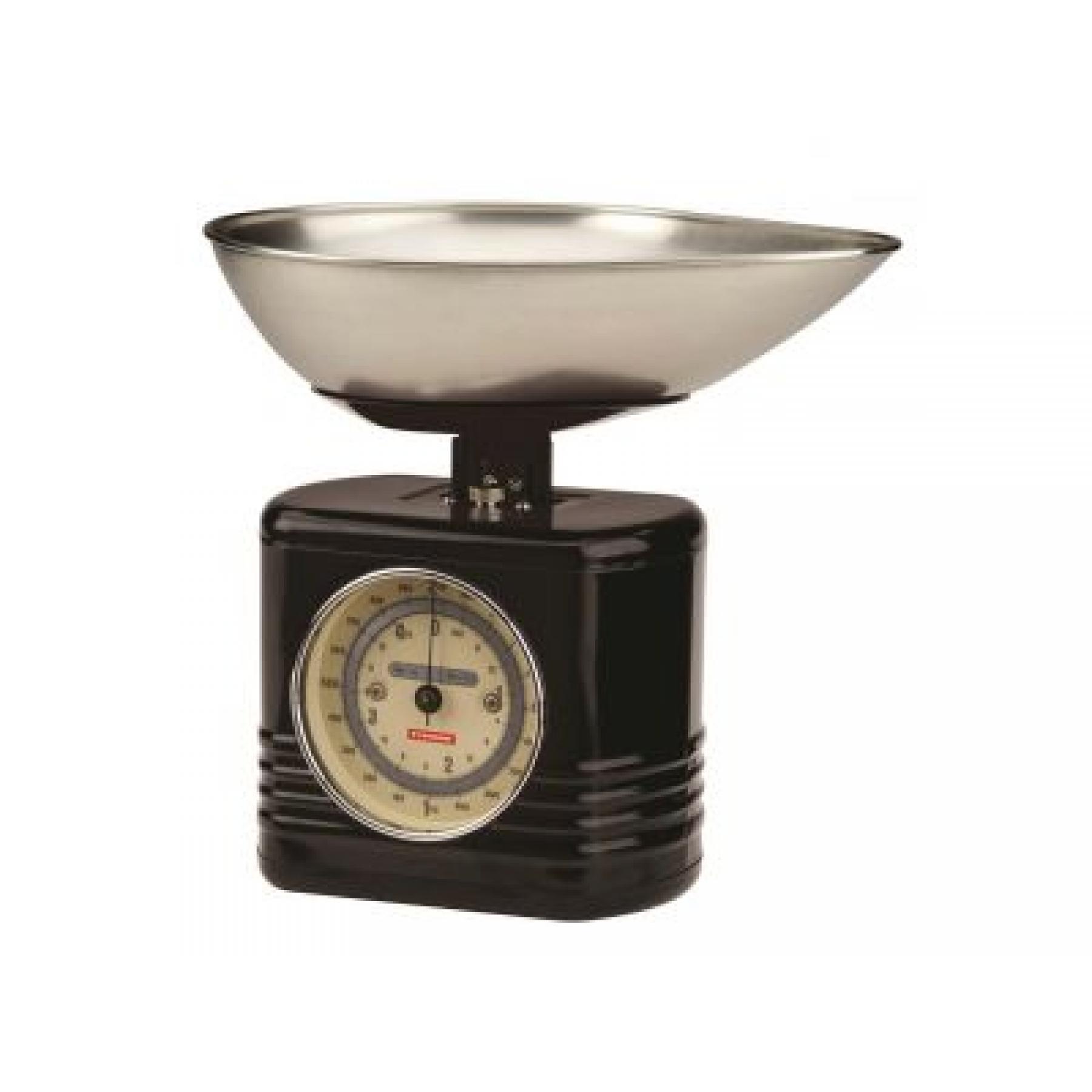 Keukenweegschaal Vintage Zwart  Typhoon