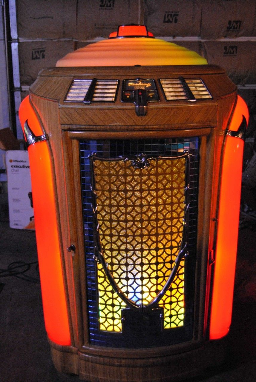 Seeburg Jukebox 1947 Trashcan