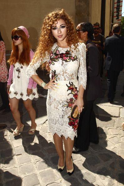 Lara Jean Chorostecki Hair Myriam Fares  | Cur...