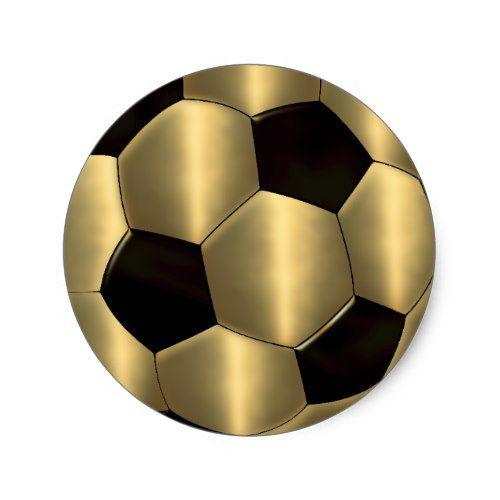 Bar Mitzvah Gold And Black Soccer Ball Classic Round Sticker Zazzle Com In 2021 Soccer Balls Soccer Inspiration Soccer Ball
