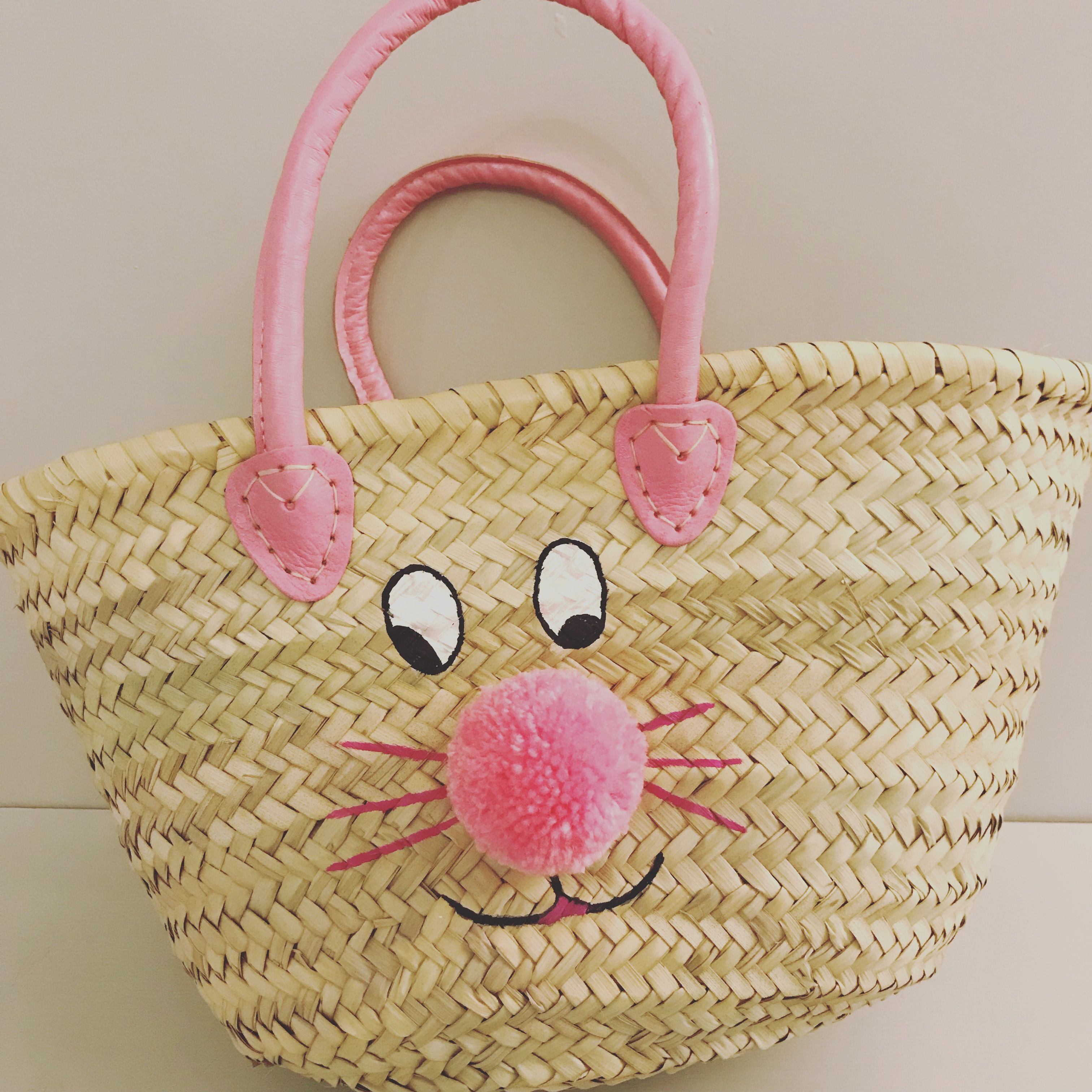 Kids bunny basket bag cute easter gift basket bags pinterest kids bunny basket bag cute easter gift negle Gallery