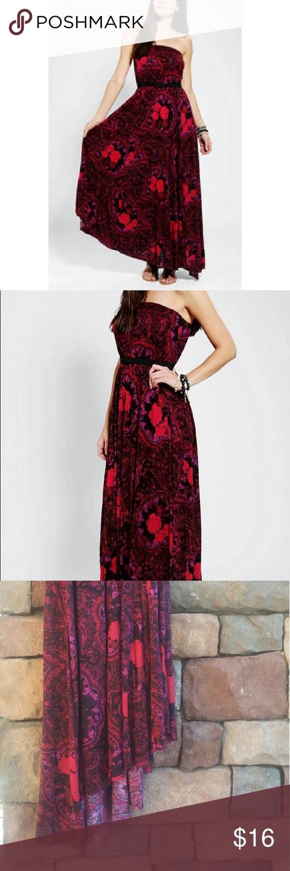 Uo ecote rosarita maxi dress urban outfitters dress urban