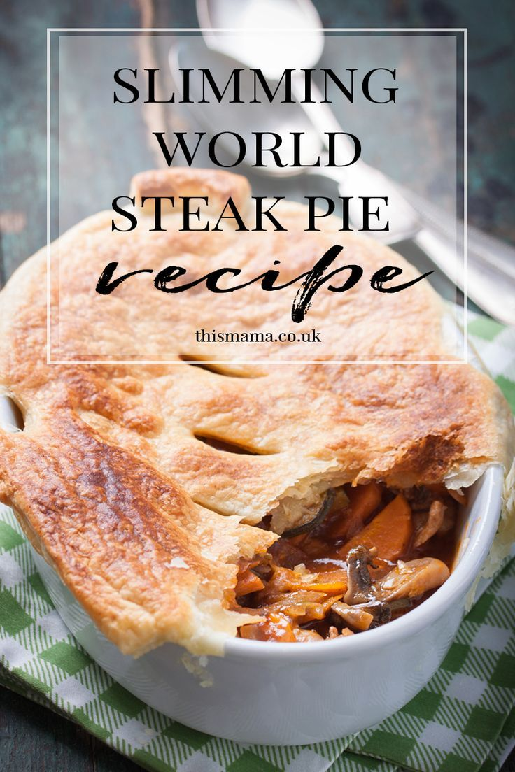 SLIMMING WORLD STEAK PIE FOR ONLY 5 SYNS - This Mama Style ...