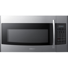 samsung 1 8 cu ft over the range microwave model smh1816s rh pinterest com
