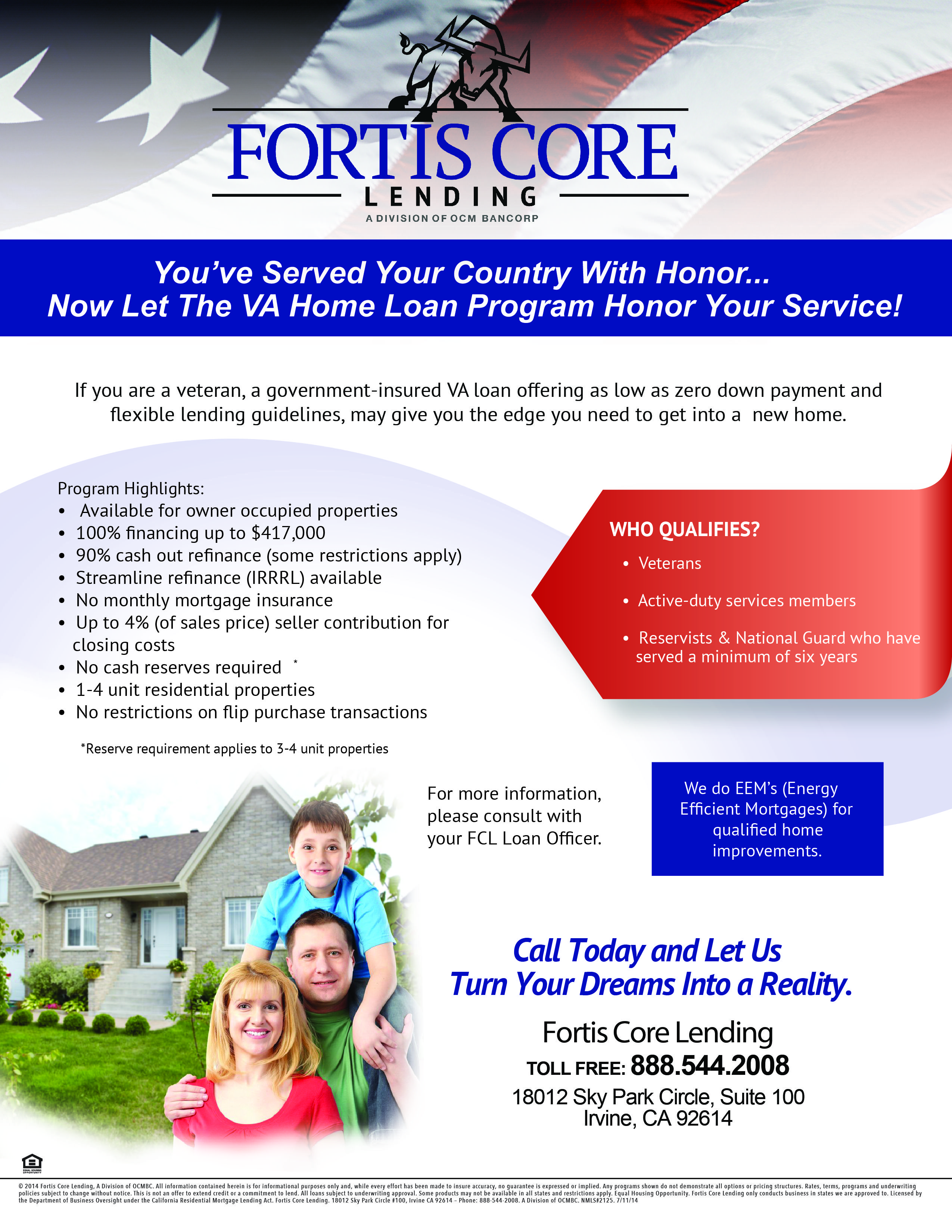 If You Are A Veteran A Government Insured Va Loan Offering As Low