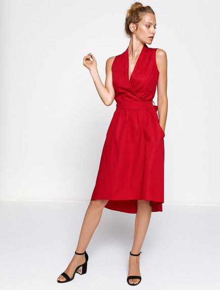 Baz Adli Kullanicinin Koton Panosundaki Pin Elbise V Yaka Elbise Modelleri