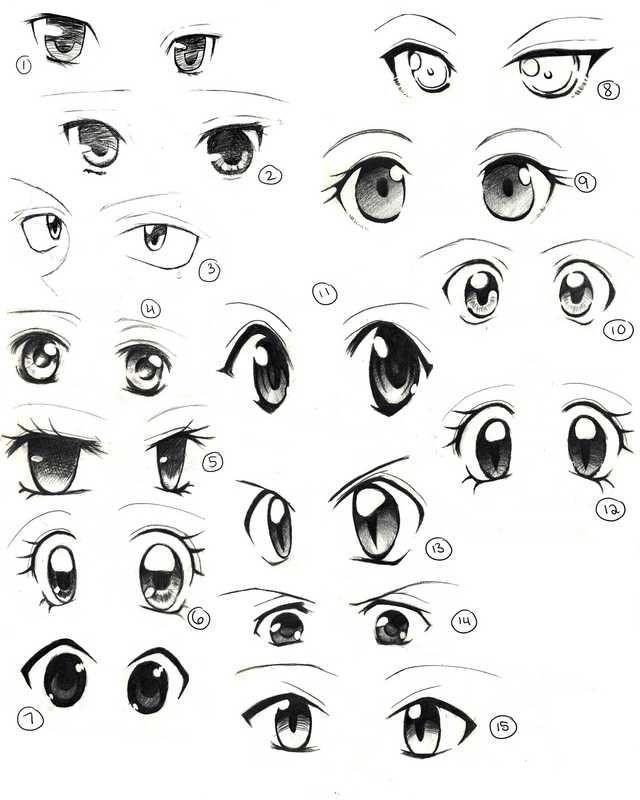 Anime Eyes Imgur Easy Anime Eyes How To Draw Anime Eyes Cartoon Eyes Drawing