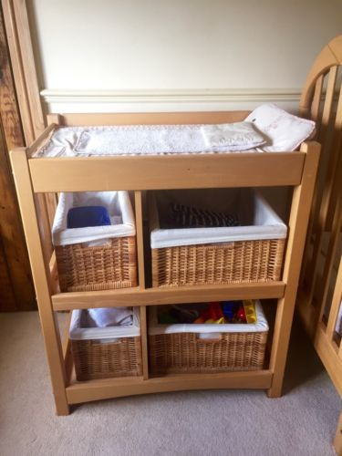 Changing Table Mama S Papa S Plus Wicker Baskets Bought