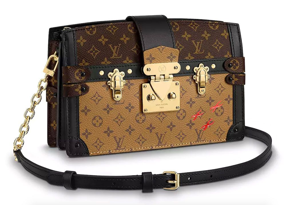 734708c6b592 The New Louis Vuitton Trunk Clutch Tries to Make a Popular Clutch a Little  More Wearable  wysluxury