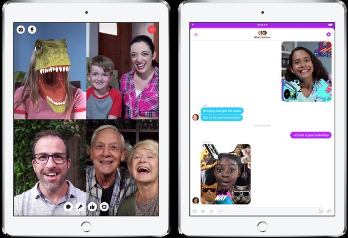 Facebook unveils Messenger Kids chatapp for kids Chat
