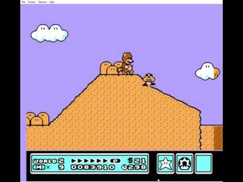 Super Mario Bros 3 Completed With Cheats & Warp Whistles & Infinite