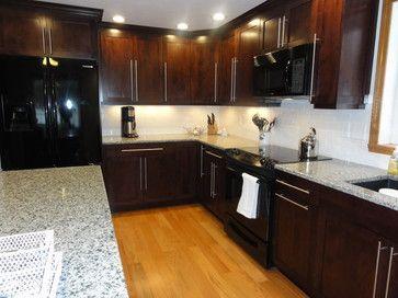 Kitchen Ideas Espresso Cabinets azul platino, espresso cabinets | house designs | pinterest