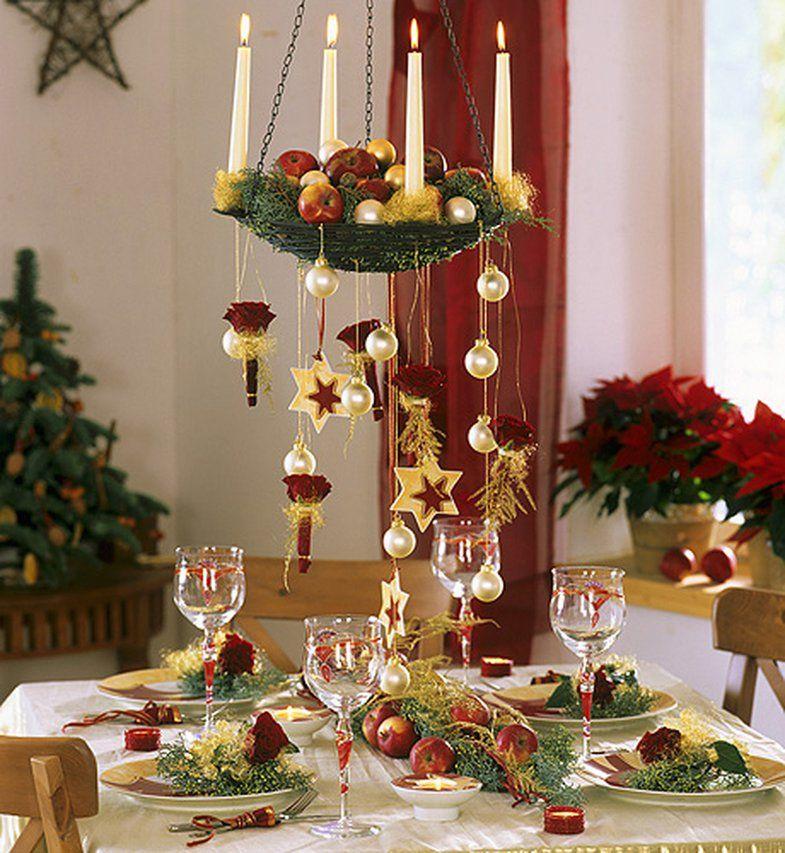 первом украшаем стол к новому году фото нюансы следует