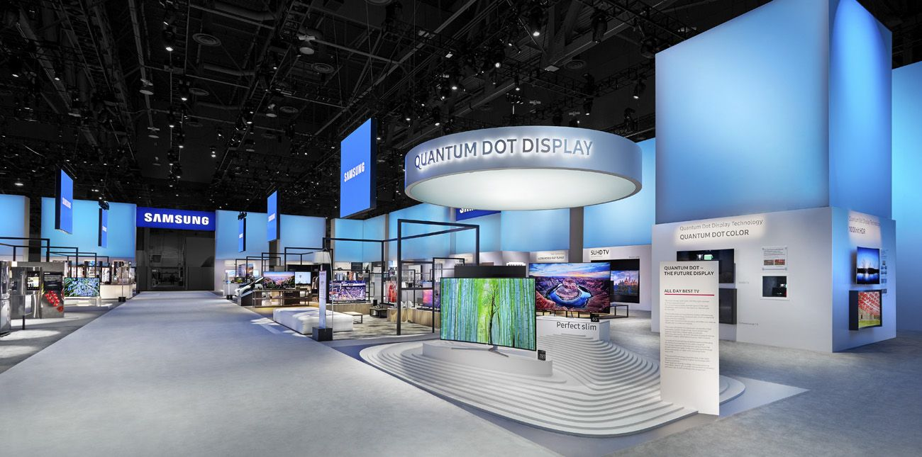 Exhibition Booth Design Las Vegas : Trade show photography samsung exhibit ces las