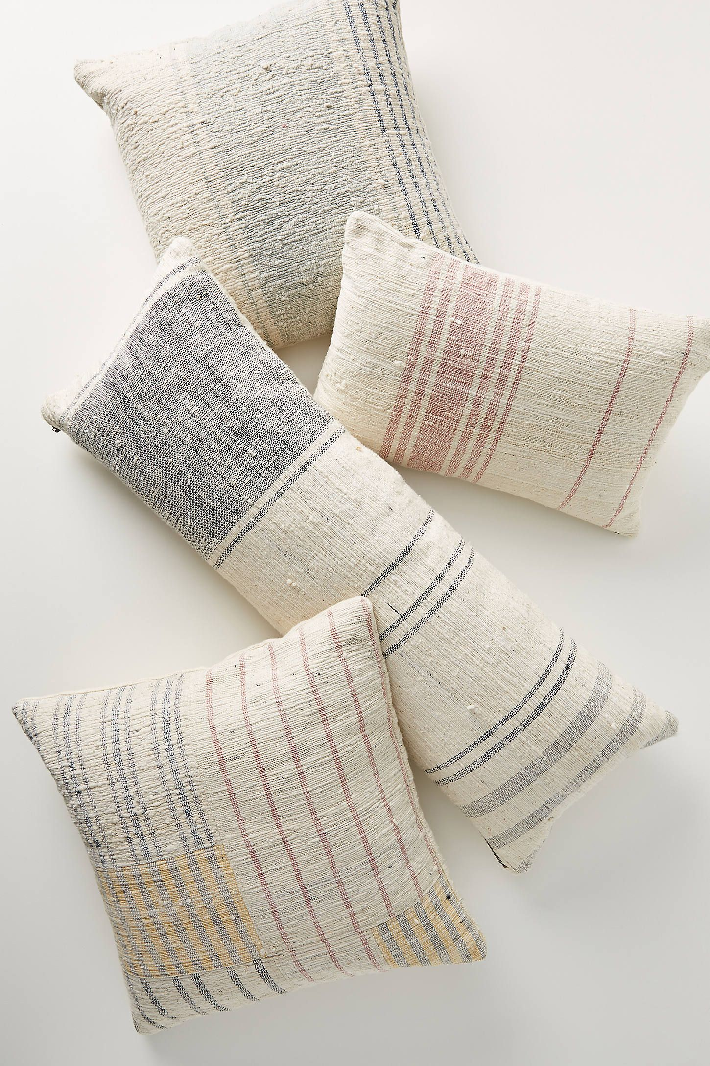 Black Pillows by Anthropologie, Handwoven Dylan Pillow