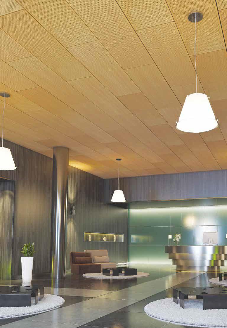 Faux Plafond Acoustique En Bois Stratifie En Dalle Armstrong Ceilings Europe Plafond Bois Faux Plafond Acoustique Faux Plafond