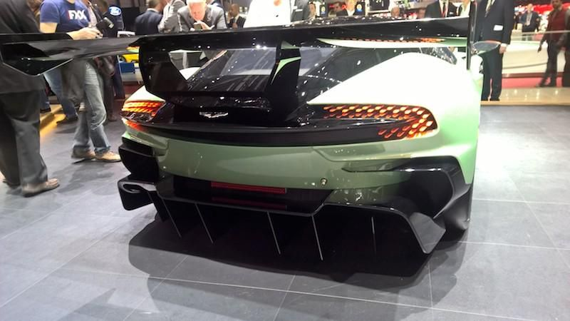 Live From Geneva2015 Fabulous Rear Lighting Detail On The Aston