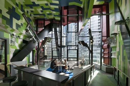 RMIT Swanston Academic Buildings Pixelated Facade Remixes The
