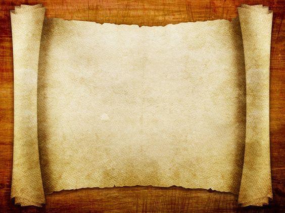 blank backdrops Advanced Blank Scroll Paper free powerpoint