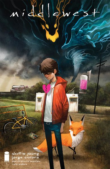 Middlewest 1 Review Skottie young, Graphic novel cover