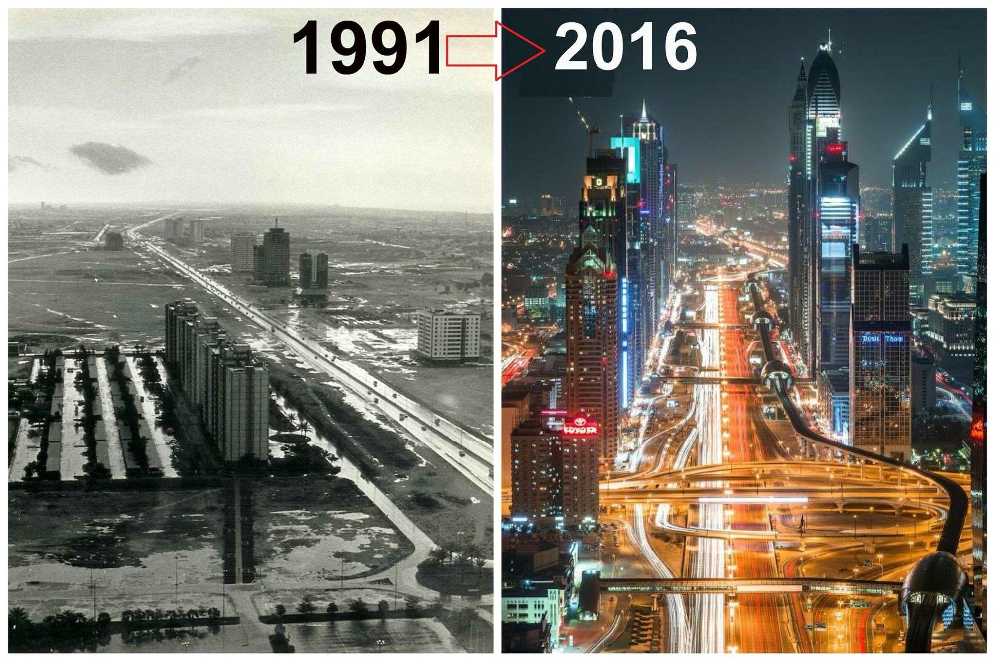 Dubai, before and after pics. | Dubai in 2019 | Dubai, Tourism, Architecture
