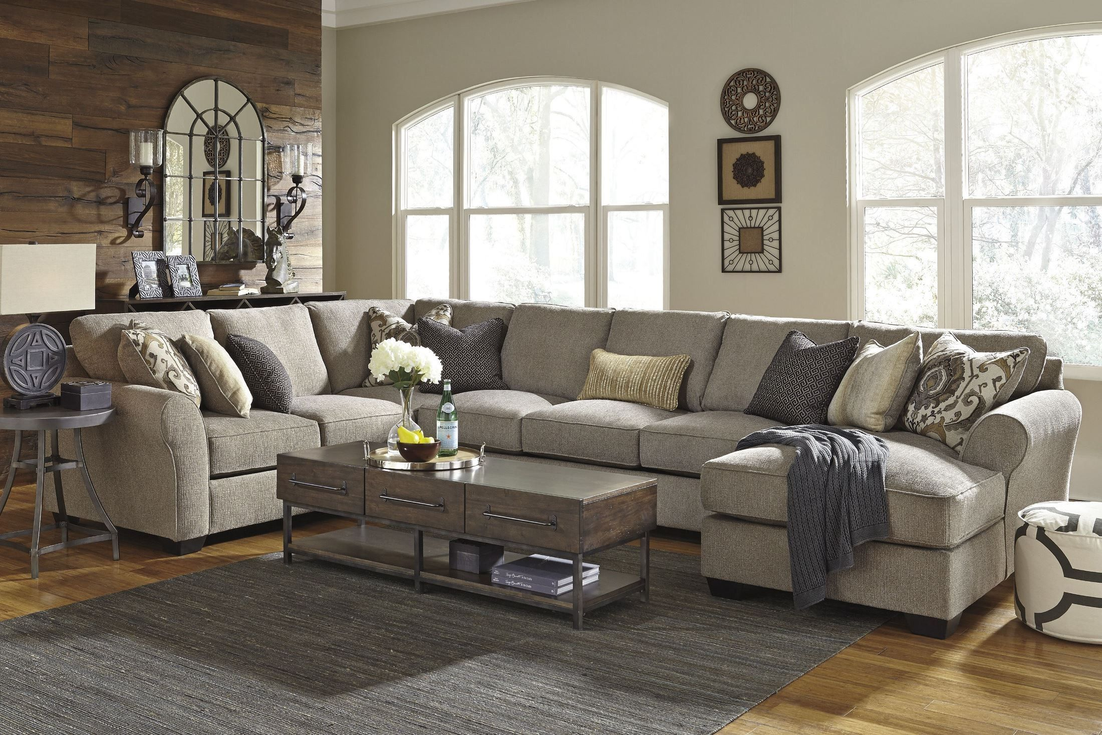 pantomine driftwood raf large chaise sectional in 2019 home sweet rh pinterest com