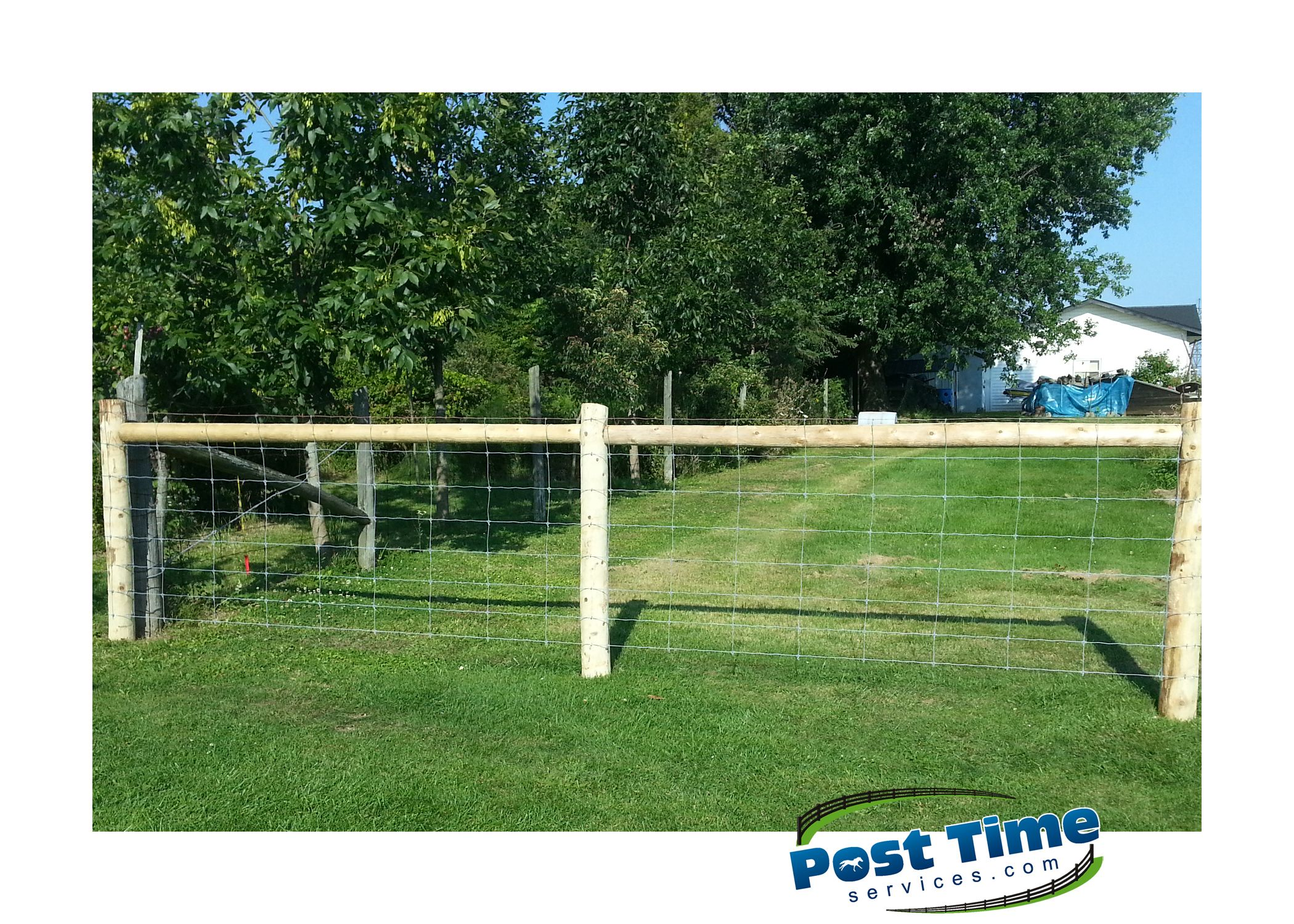 Double Top Brace for short section of fence stretched tight - 8 ...