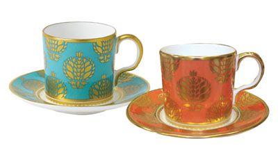 Royal Crown Derby Bristol Belle  Coffee Cup  Saucer cup