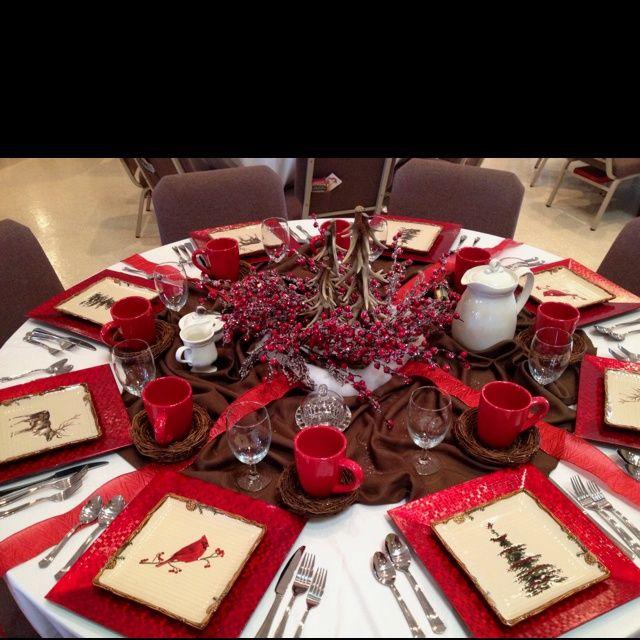 Christmas Tea Party Ideas: Table Decorations For Ladies Tea