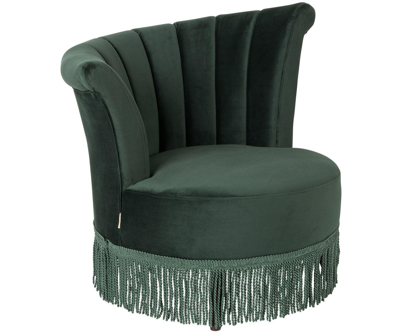 Sitzhocker Anna Lounge Club Möbel Sessel grün