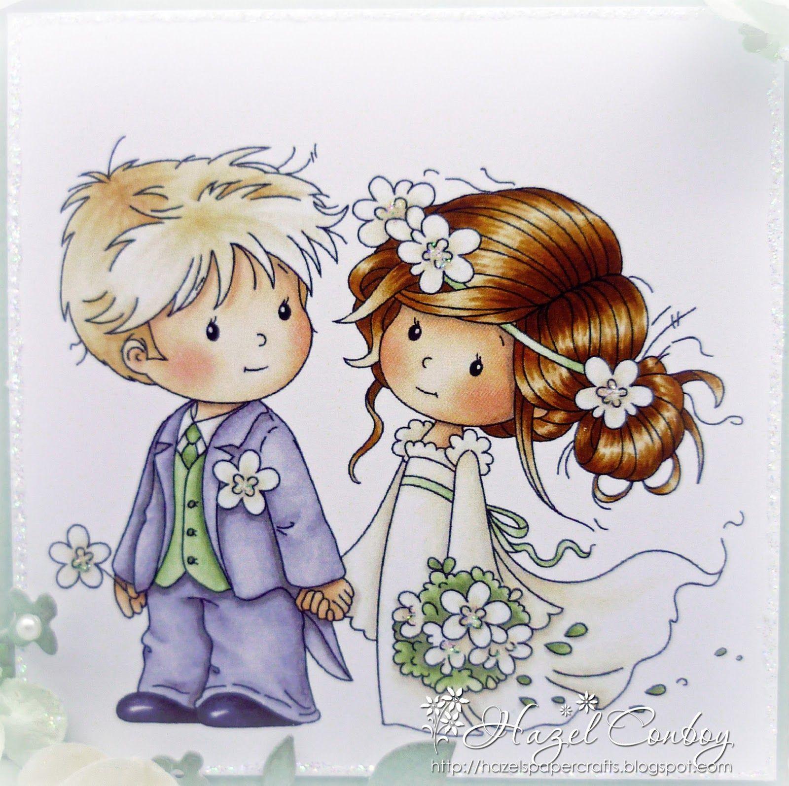 Детские открытки с свадьбой