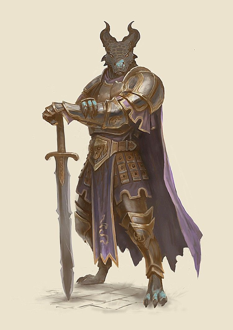 Dragonborn Oathbreaker   Dungeons and dragons characters, Character art, Dnd characters