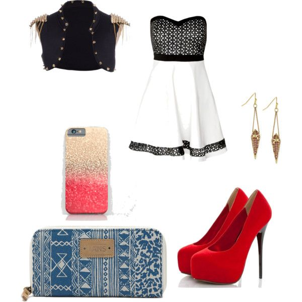 Rocker by ingrid-barcellos on Polyvore featuring moda, Vans and BCBGeneration