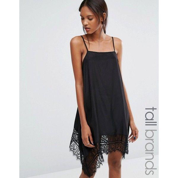 Lace Cami Dress - Black Vero Moda Footaction For Sale nV1I5ap1Yh
