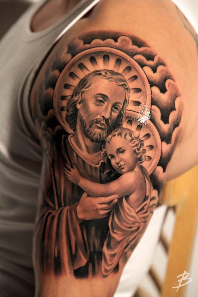 Saint Joseph The Protector Of Family Dopeness Pinterest