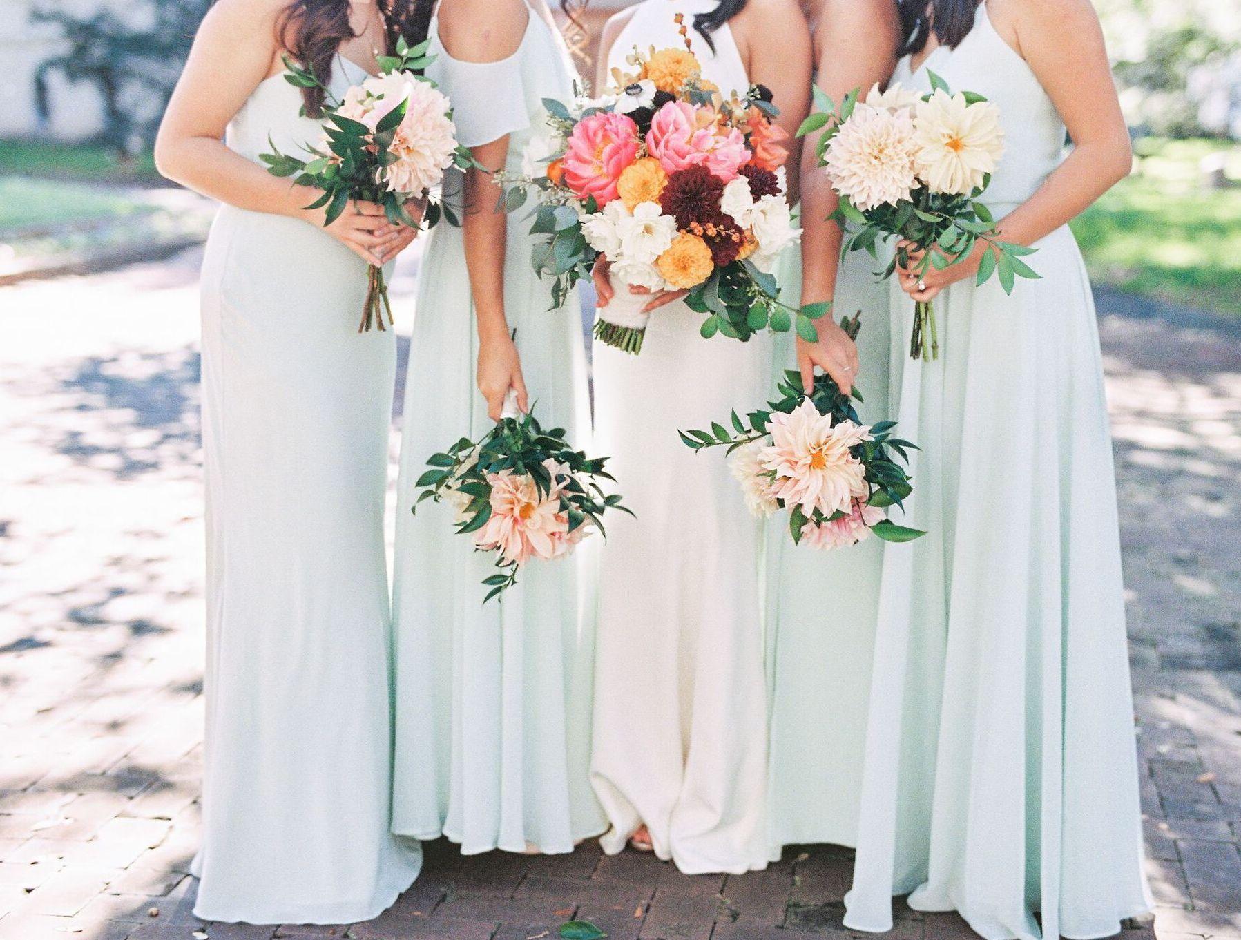 Jenny Yoo Bridesmaids, Shown In The Mila, Blake, Inesse
