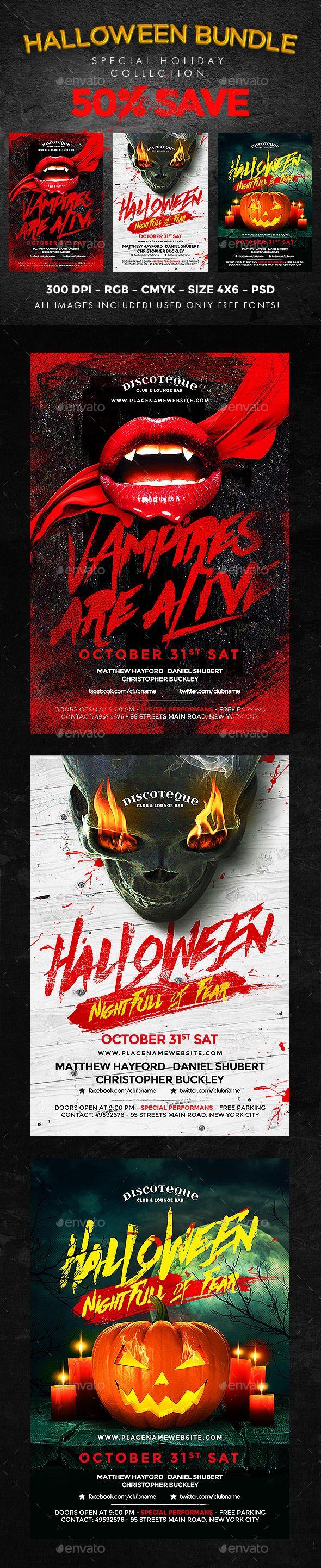 Free Halloween Flyer Templates Photoshop Erkalnathandedecker