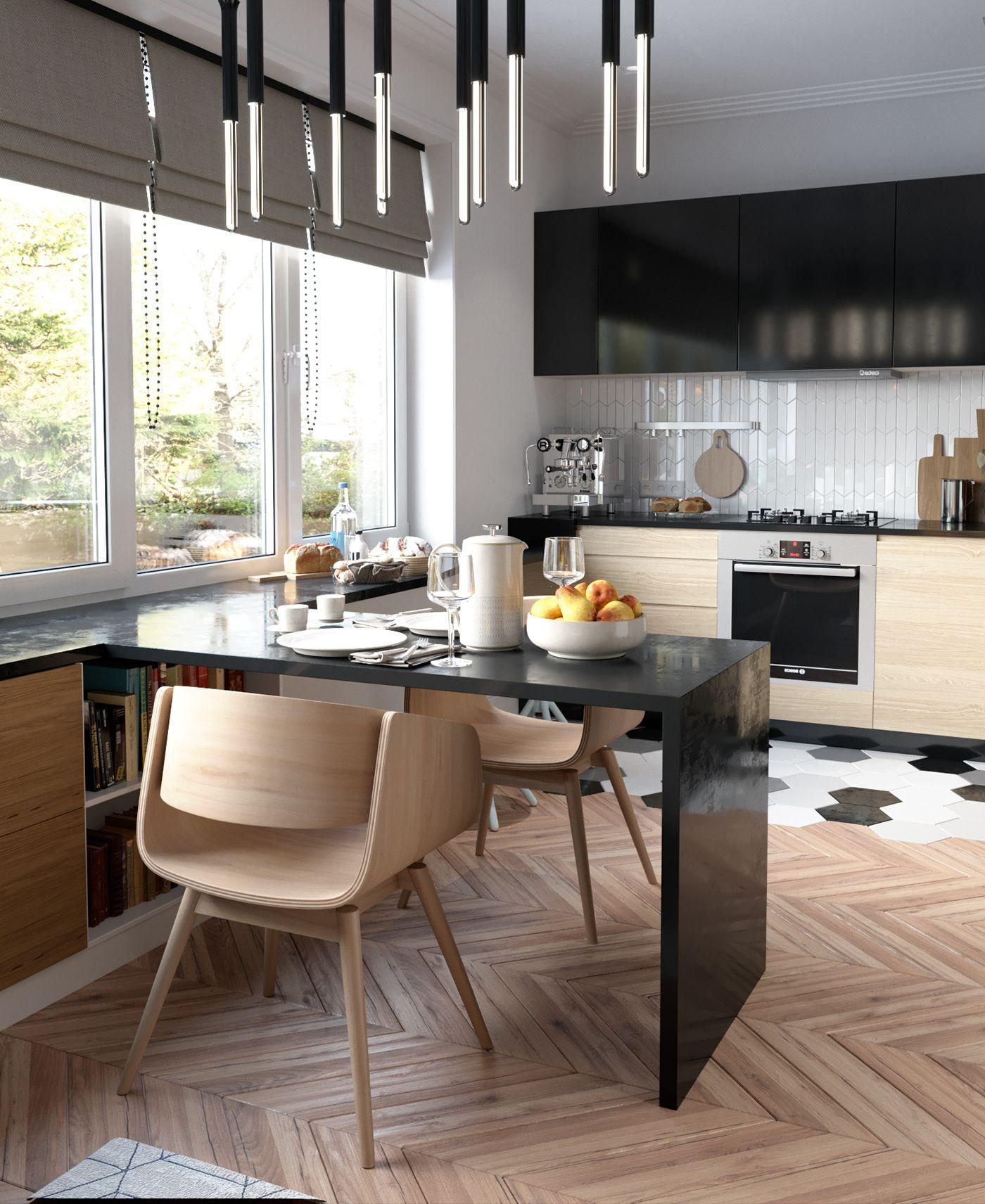 Room Living room on Behance