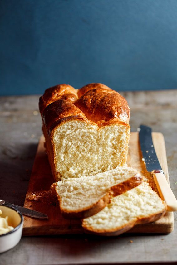 Brioche Loaf Opskrift Mad Og Drikke Mad Og Bagvaerk