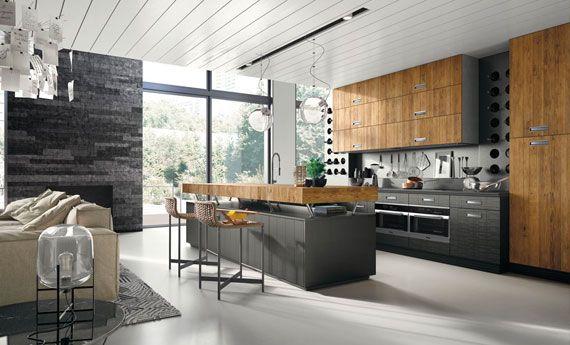 La Cucina Componibile Lab 40 Di Marchi Cucine In Stile Moderno