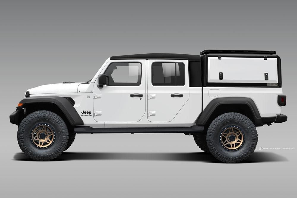 Rld Design Stainless Steel Truck Cap Jeep Gladiator 2020 Gen 2