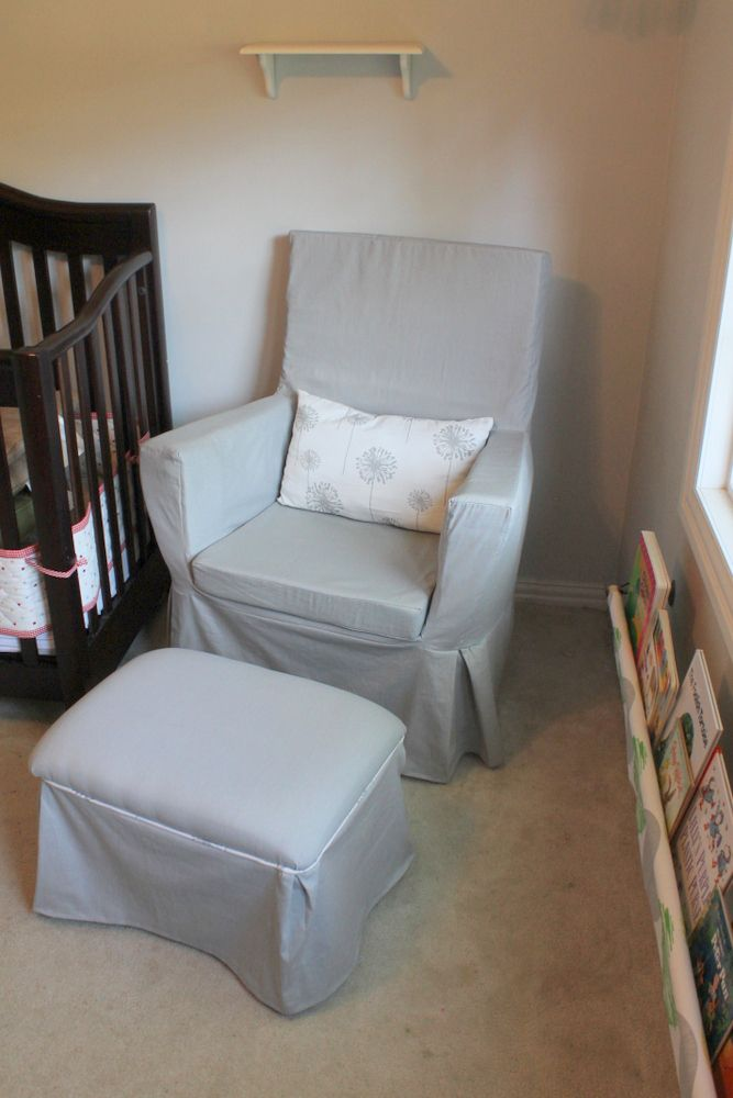 Glider Make Over! - Blue House Joys | Baby !!! | Pinterest | Sillas ...
