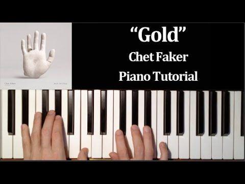 Im Into You Chet Faker Piano Tutorial Youtube Piano